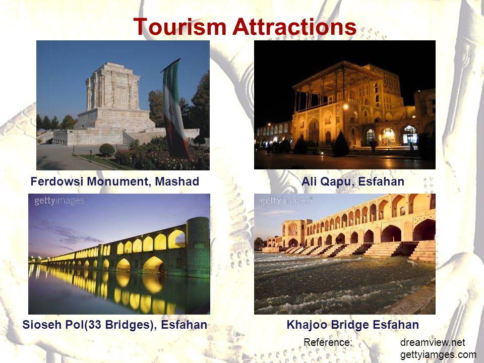 Ferdowsi Monument, Mashad Sioseh Pol(33 Bridges), Esfahan