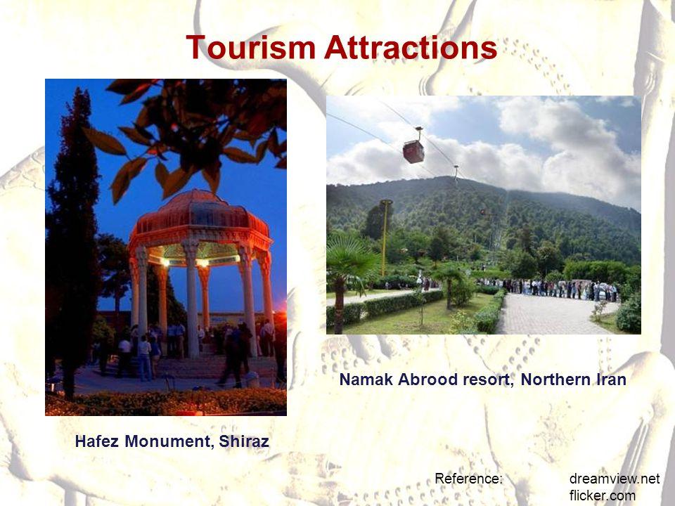 Tourism Attractions Namak Abrood resort, Northern Iran