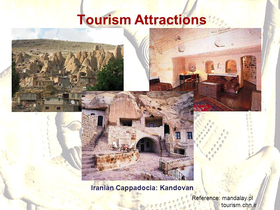 Tourism Attractions Iranian Cappadocia: Kandovan