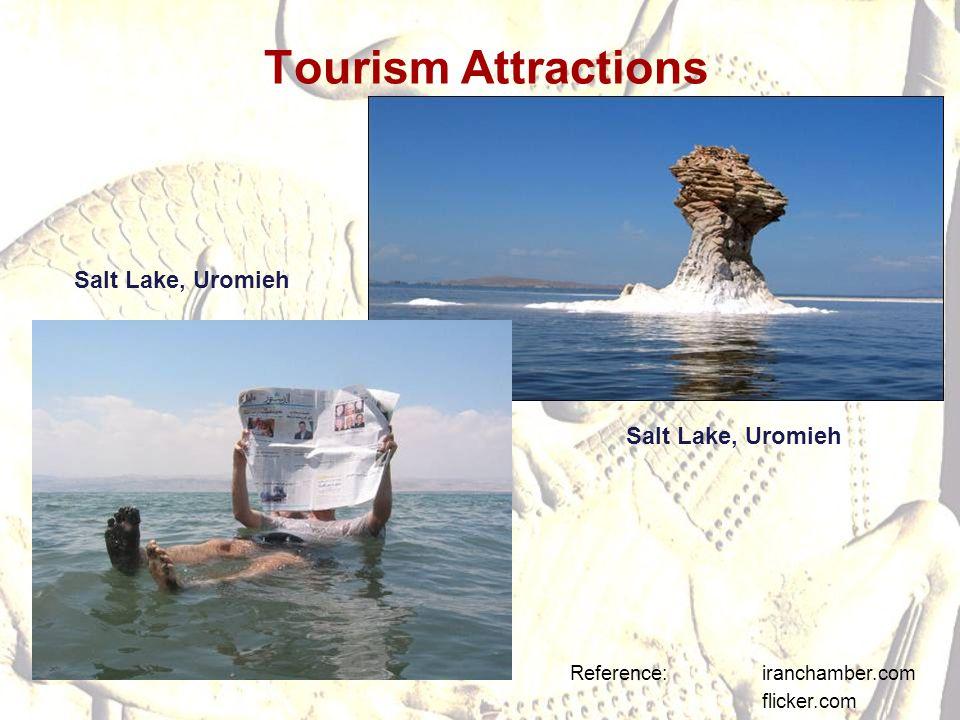 Tourism Attractions Salt Lake, Uromieh Salt Lake, Uromieh