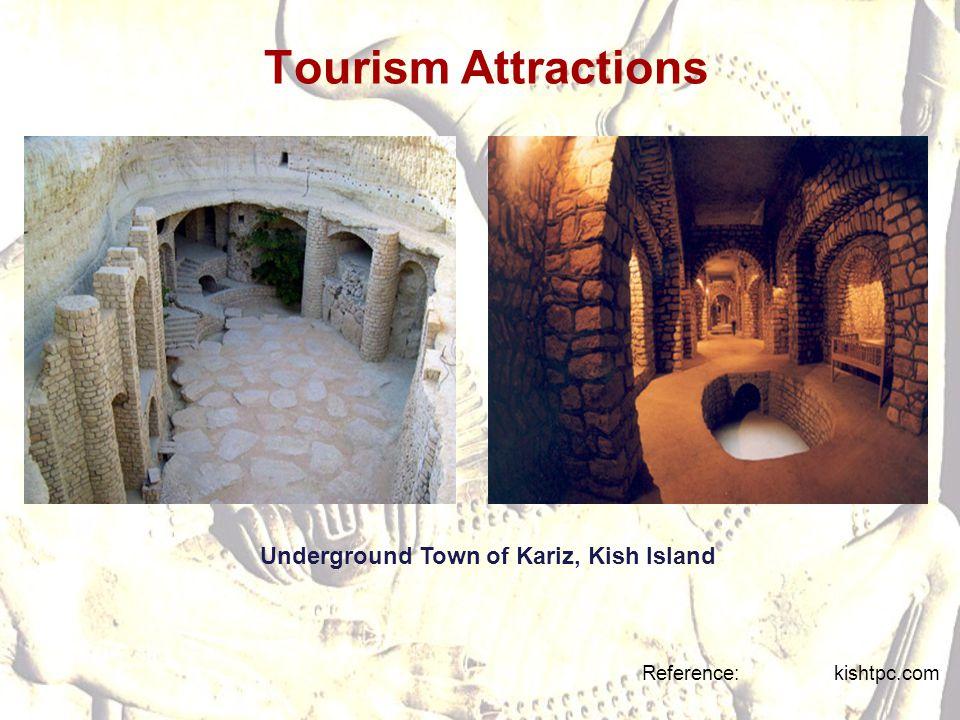 Tourism Attractions Underground Town of Kariz, Kish Island