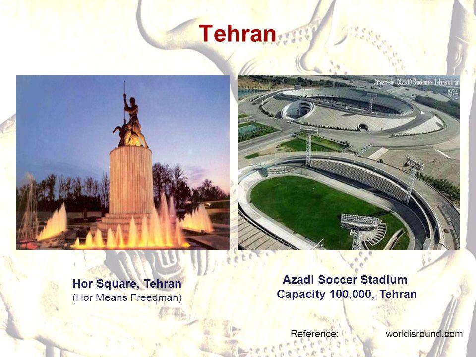 Tehran Azadi Soccer Stadium Hor Square, Tehran