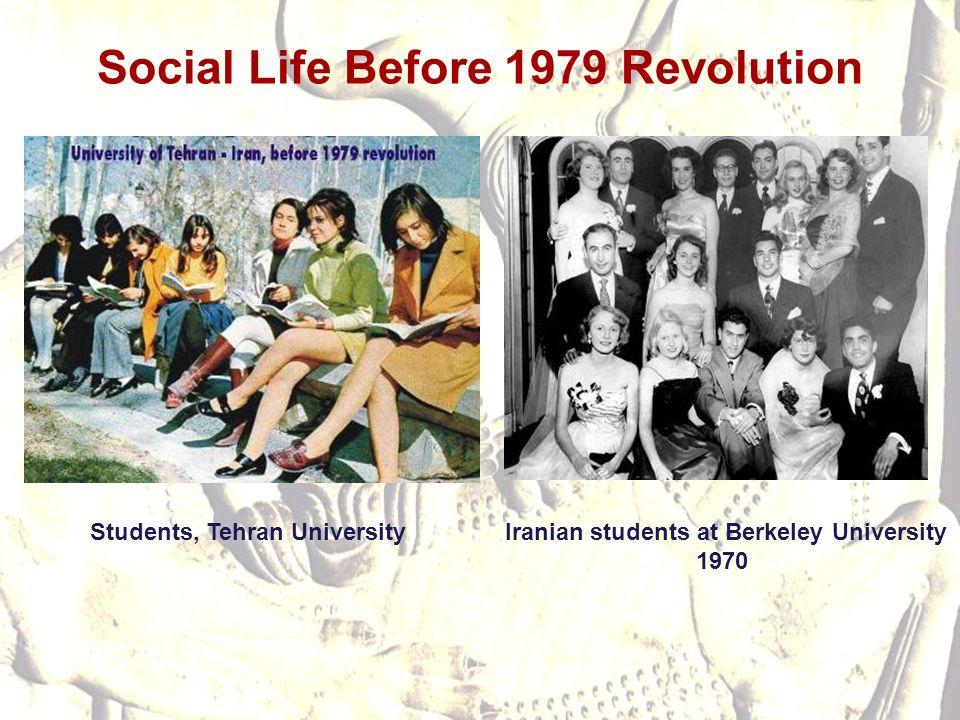 Social Life Before 1979 Revolution