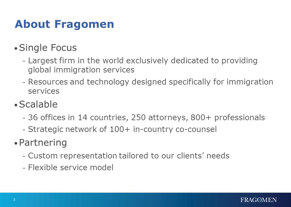 Global Coverage Fragomen Office Core Strategic Partner Planned Office