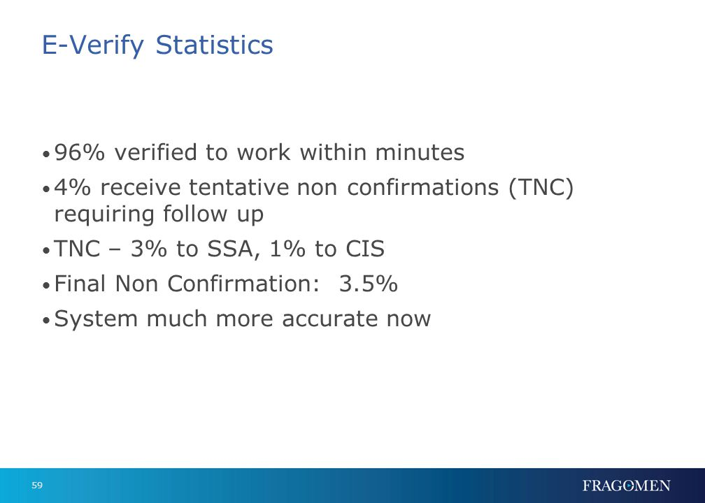 E-Verify Fed Contractors: Effective September 8, 2009