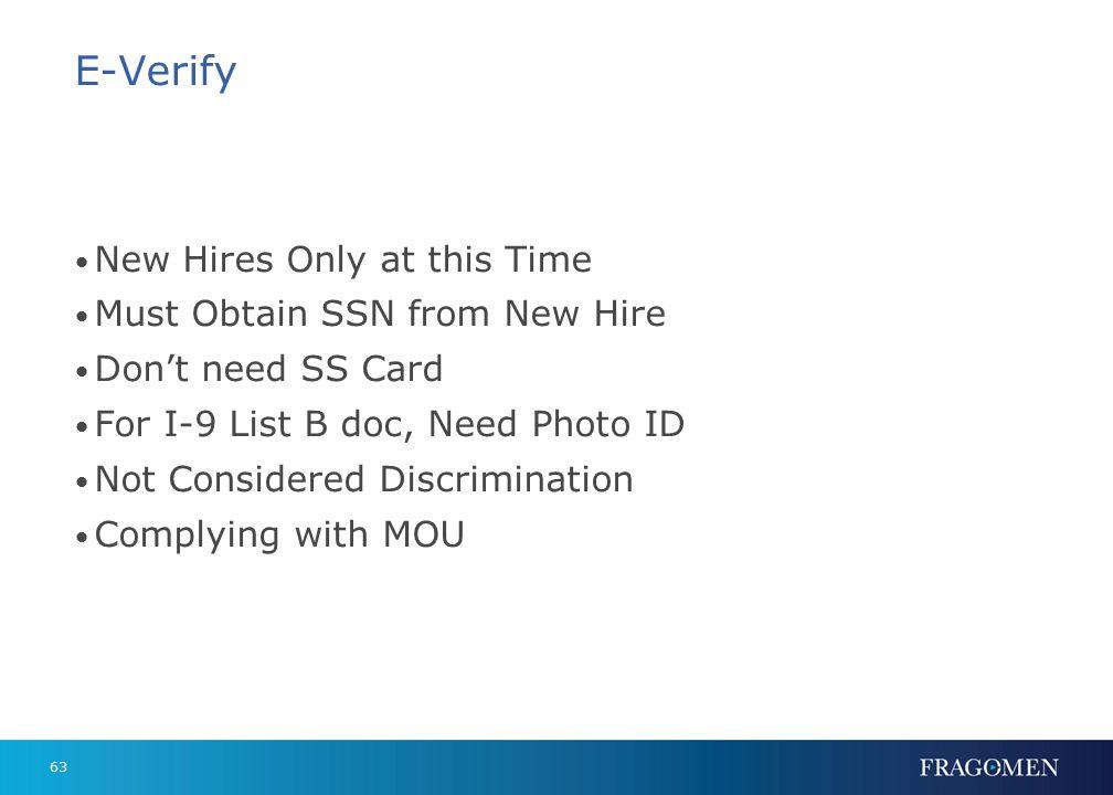 E-Verify Photo Screening Tool