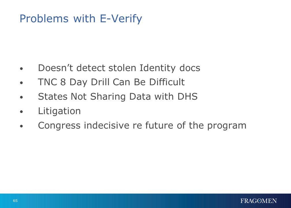 Future of E-Verify Administration Supports E-Verify