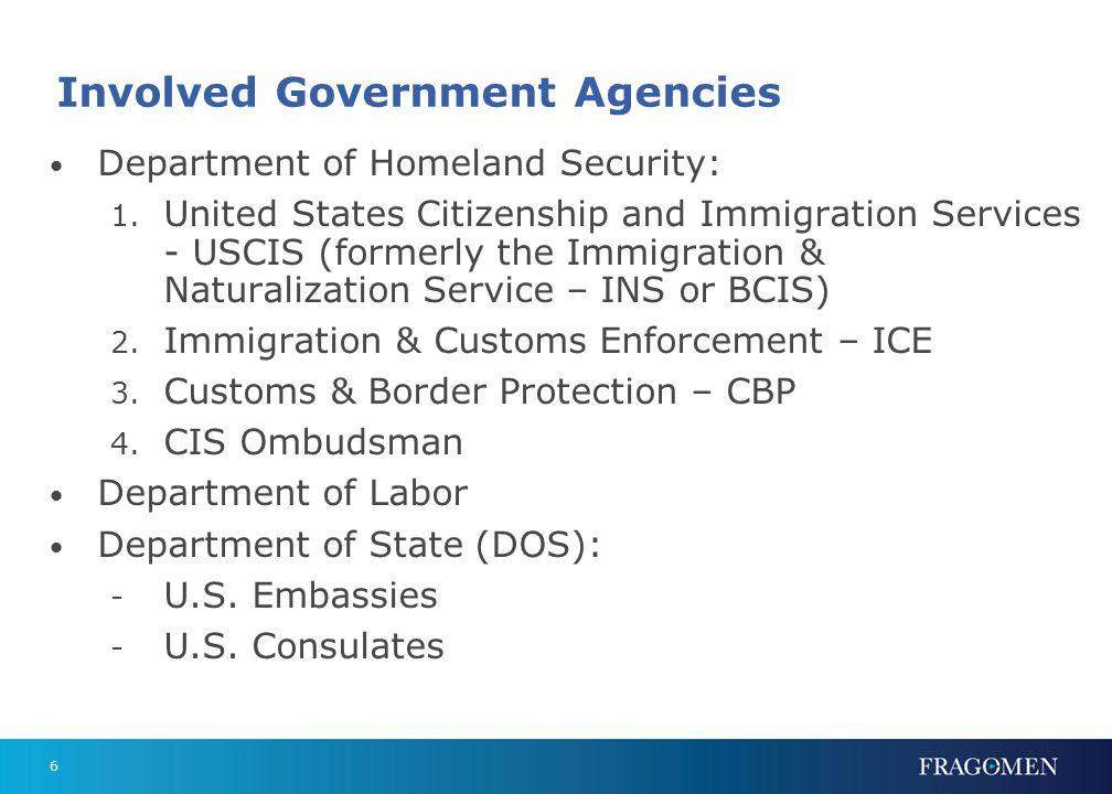 Basic Concepts Immigrants vs. non-immigrants Dual intent