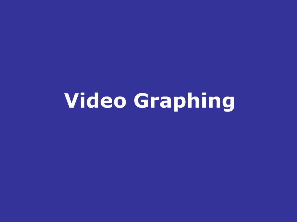 Video Graphing