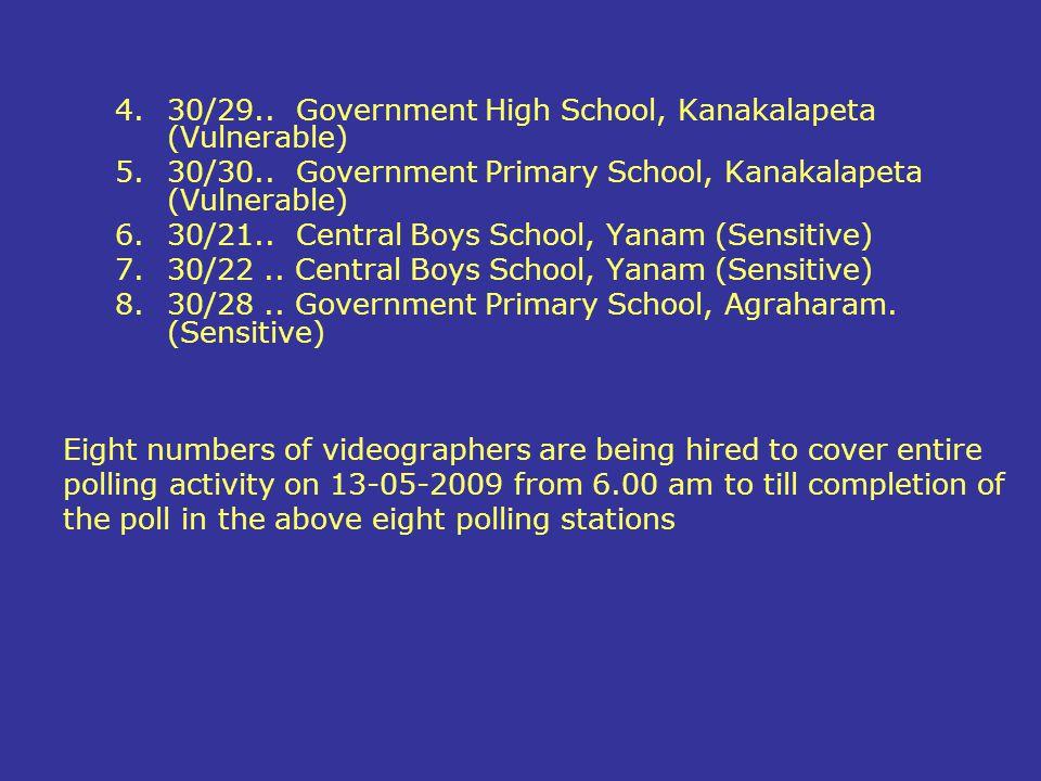 30/29.. Government High School, Kanakalapeta (Vulnerable)