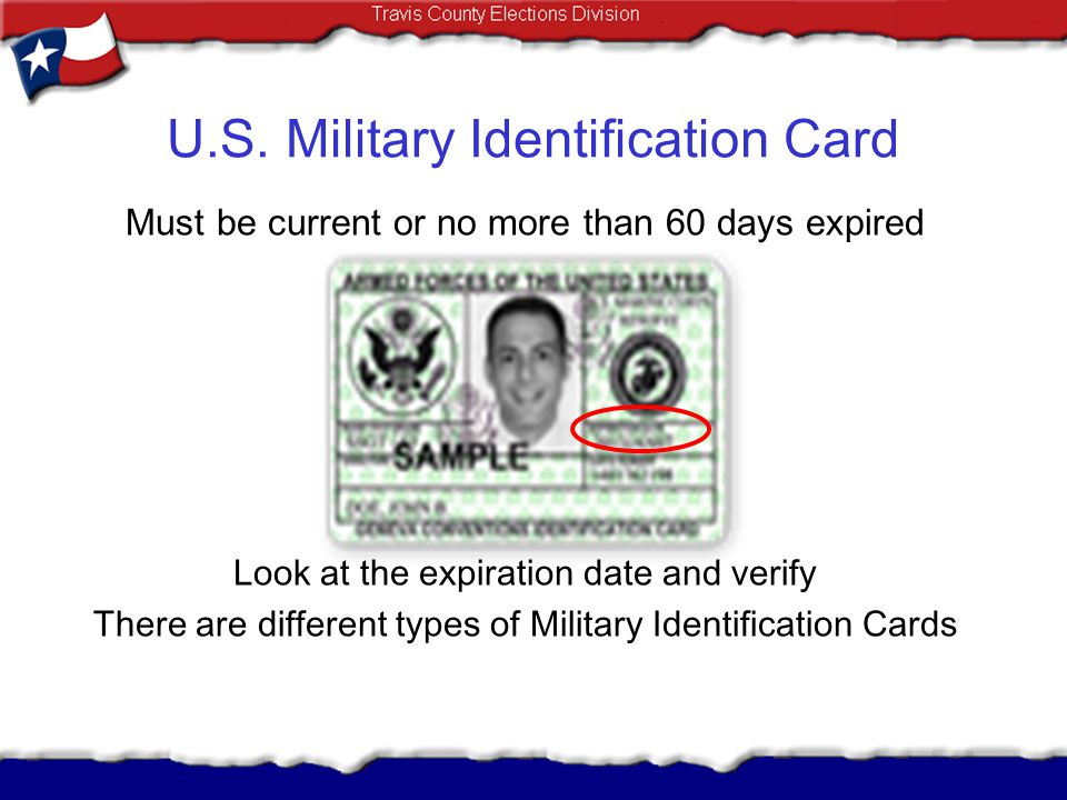 U.S. Military Identification Card