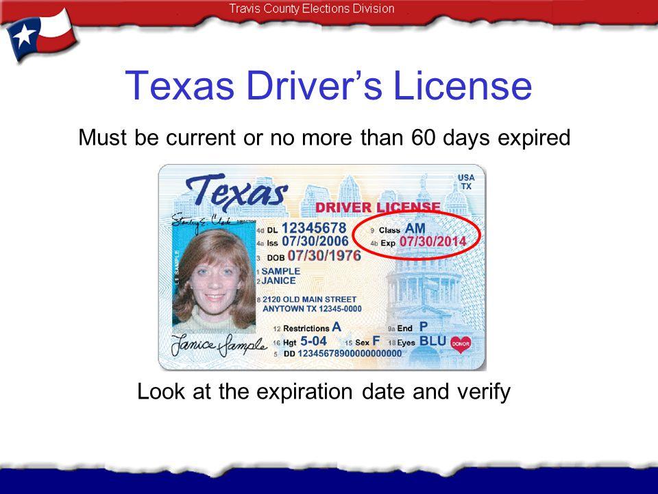 Texas Driver's License