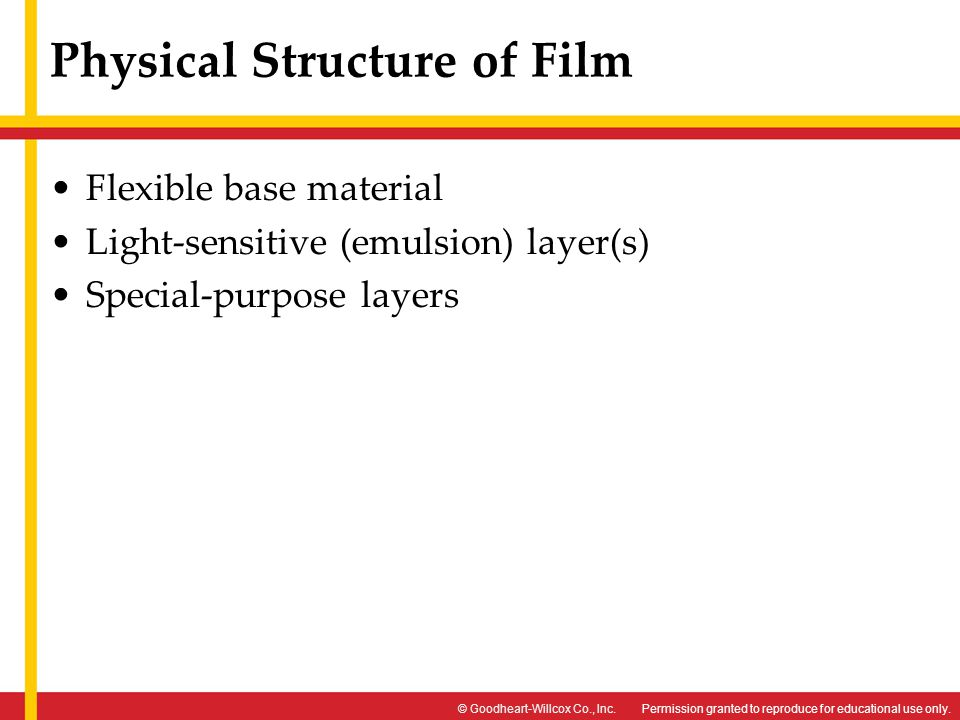 Physical Structure of Film