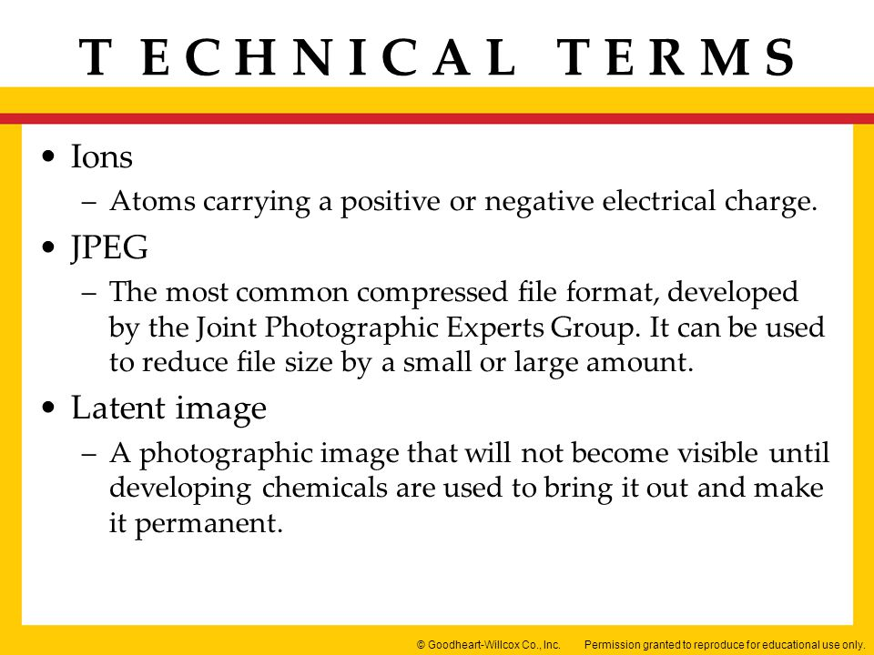 Ions Atoms carrying a positive or negative electrical charge. JPEG.