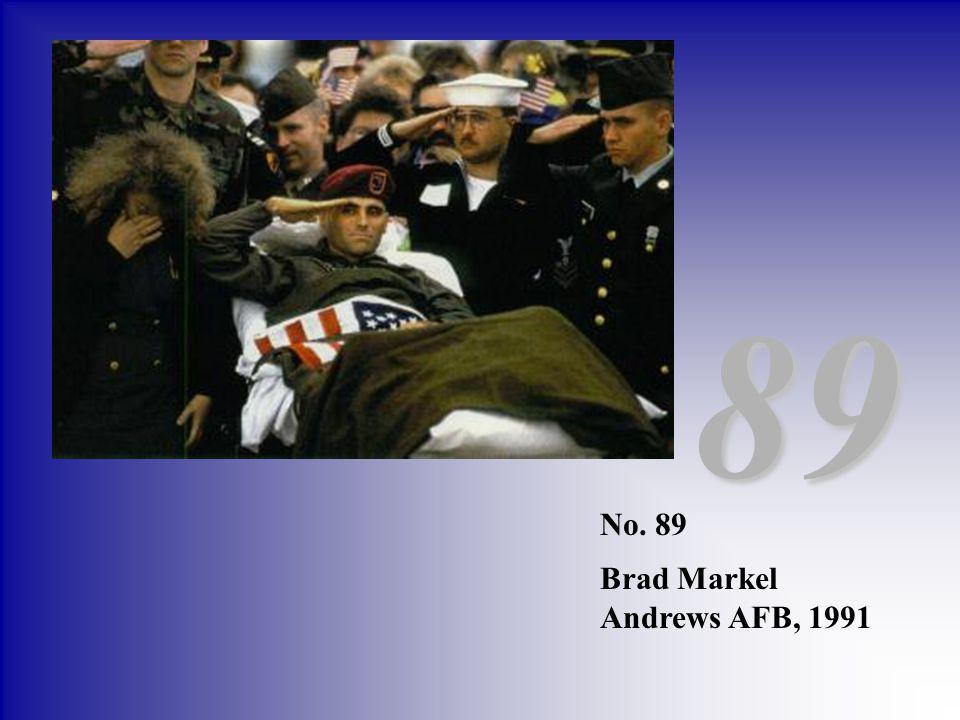 89 No. 89 Brad Markel Andrews AFB, 1991