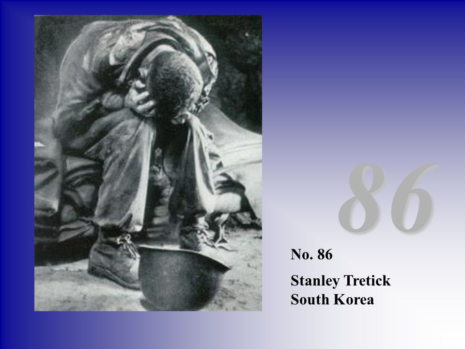 86 No. 86 Stanley Tretick South Korea