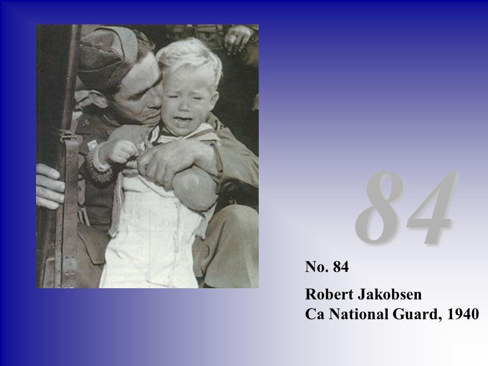 84 No. 84 Robert Jakobsen Ca National Guard, 1940