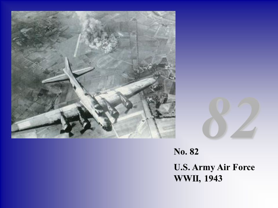 82 No. 82 U.S. Army Air Force WWII, 1943