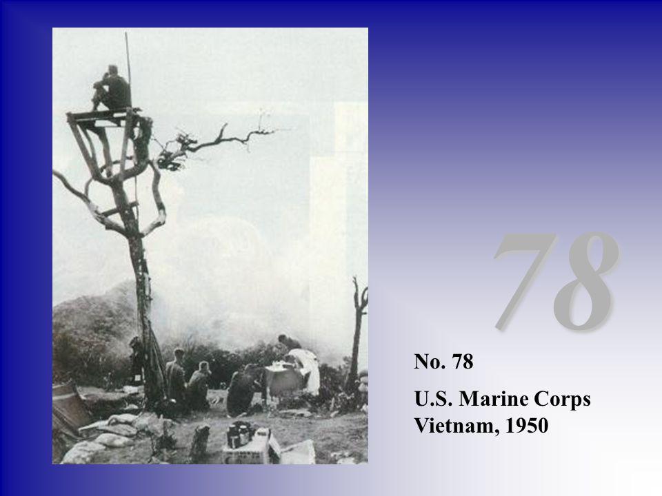 78 No. 78 U.S. Marine Corps Vietnam, 1950