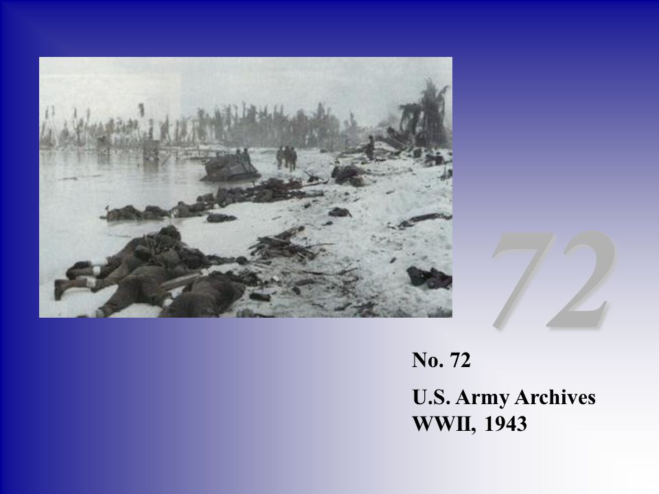 72 No. 72 U.S. Army Archives WWII, 1943