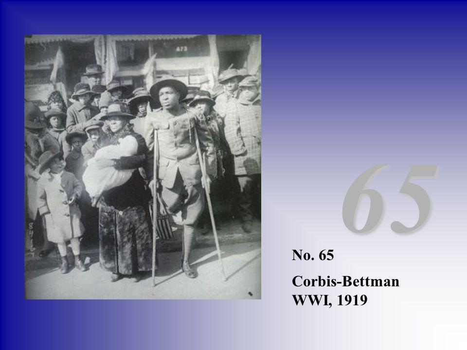 65 No. 65 Corbis-Bettman WWI, 1919