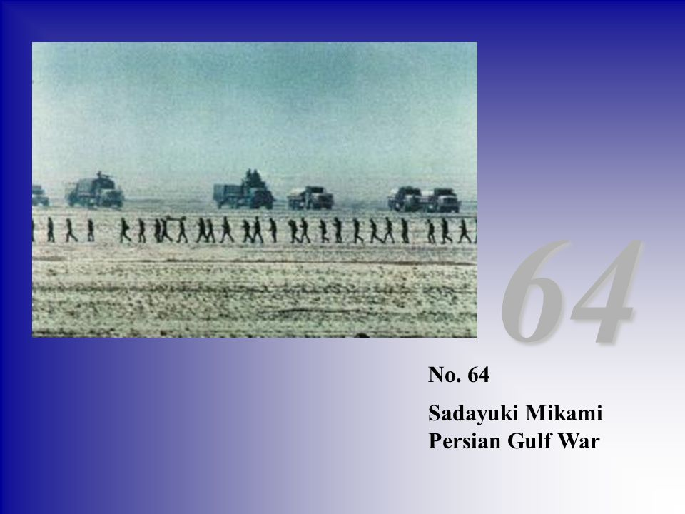 64 No. 64 Sadayuki Mikami Persian Gulf War