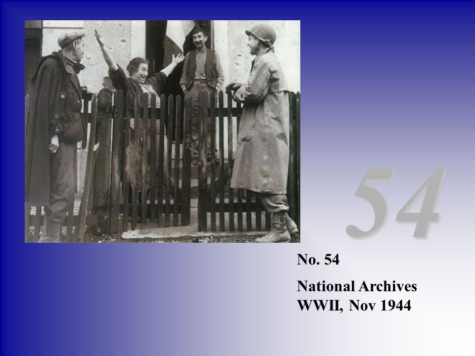 54 No. 54 National Archives WWII, Nov 1944