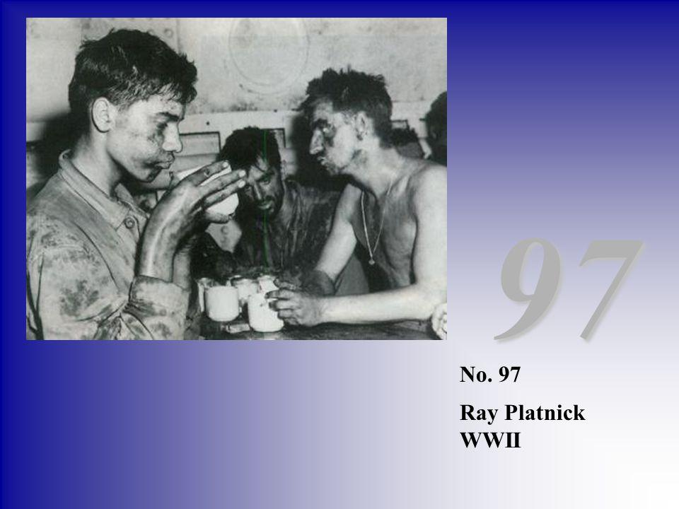 97 No. 97 Ray Platnick WWII