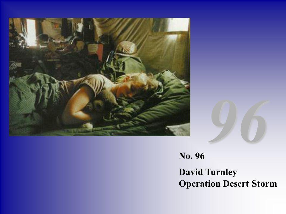 96 No. 96 David Turnley Operation Desert Storm
