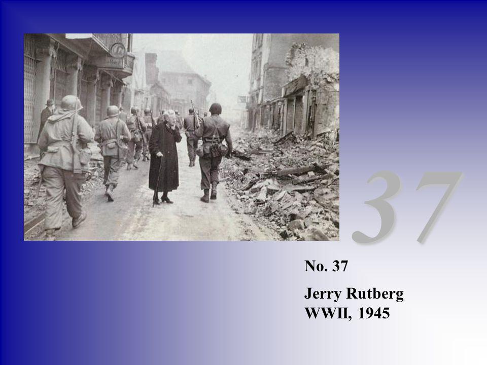 37 No. 37 Jerry Rutberg WWII, 1945