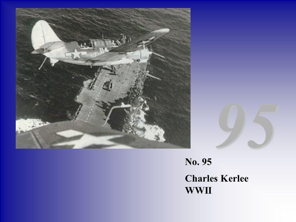 95 No. 95 Charles Kerlee WWII