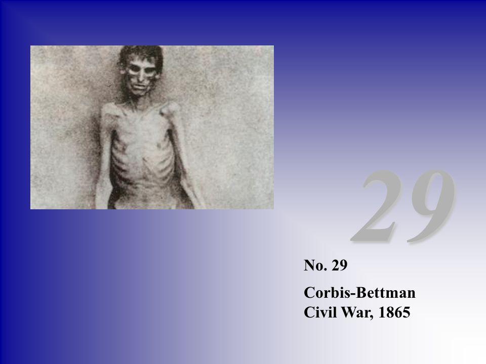 29 No. 29 Corbis-Bettman Civil War, 1865
