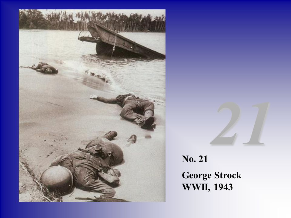 21 No. 21 George Strock WWII, 1943