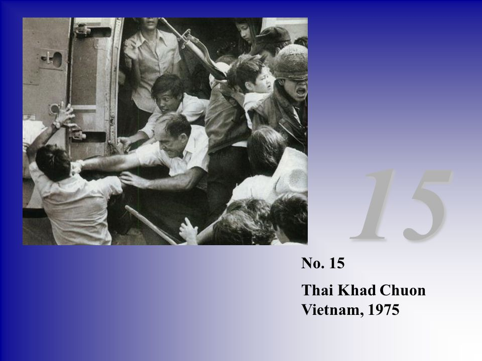 15 No. 15 Thai Khad Chuon Vietnam, 1975
