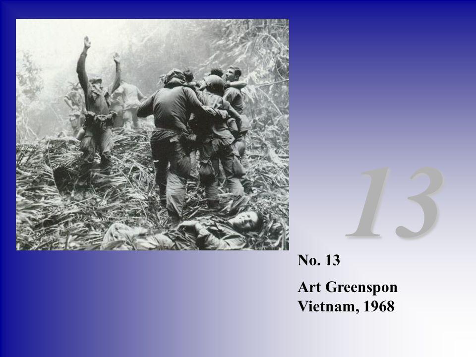 13 No. 13 Art Greenspon Vietnam, 1968