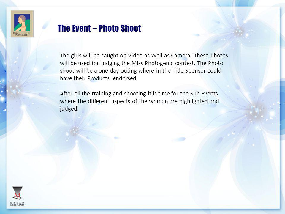 The Event – Photo Shoot