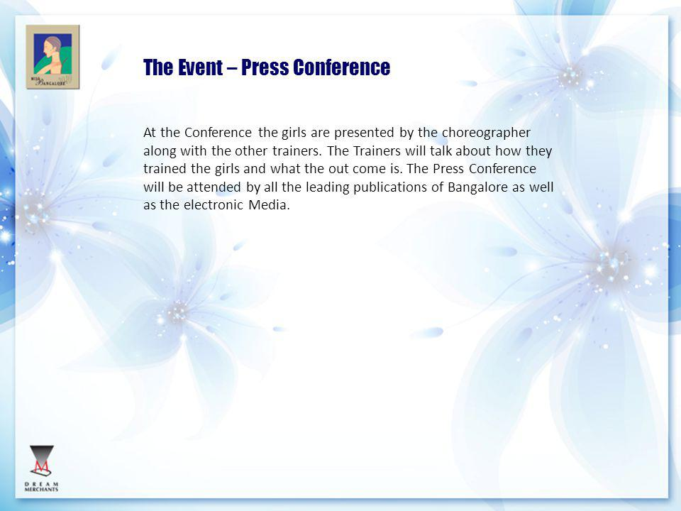 The Event – Press Conference