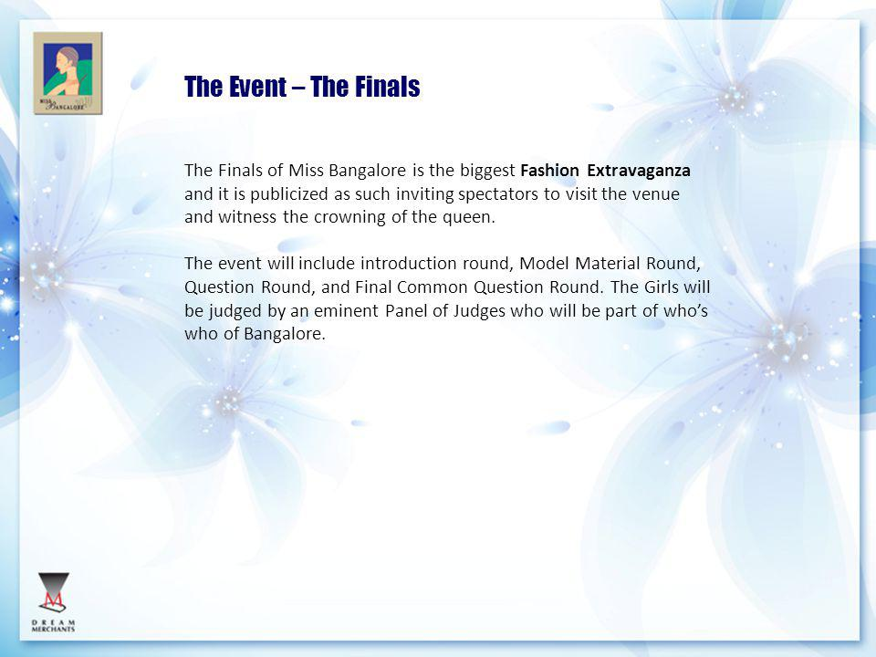 The Event – The Finals