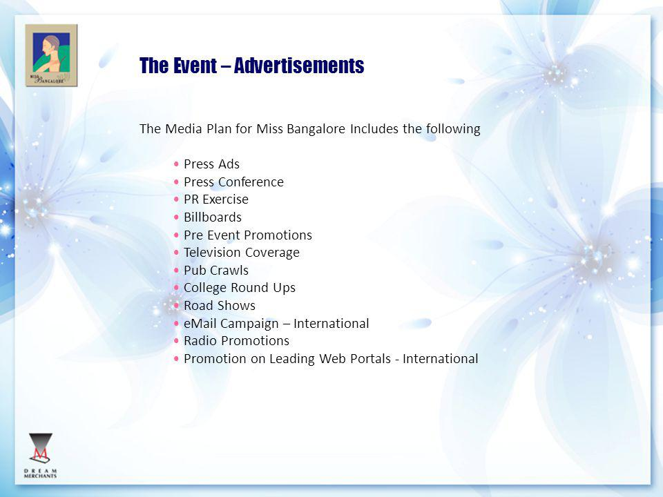 The Event – Advertisements