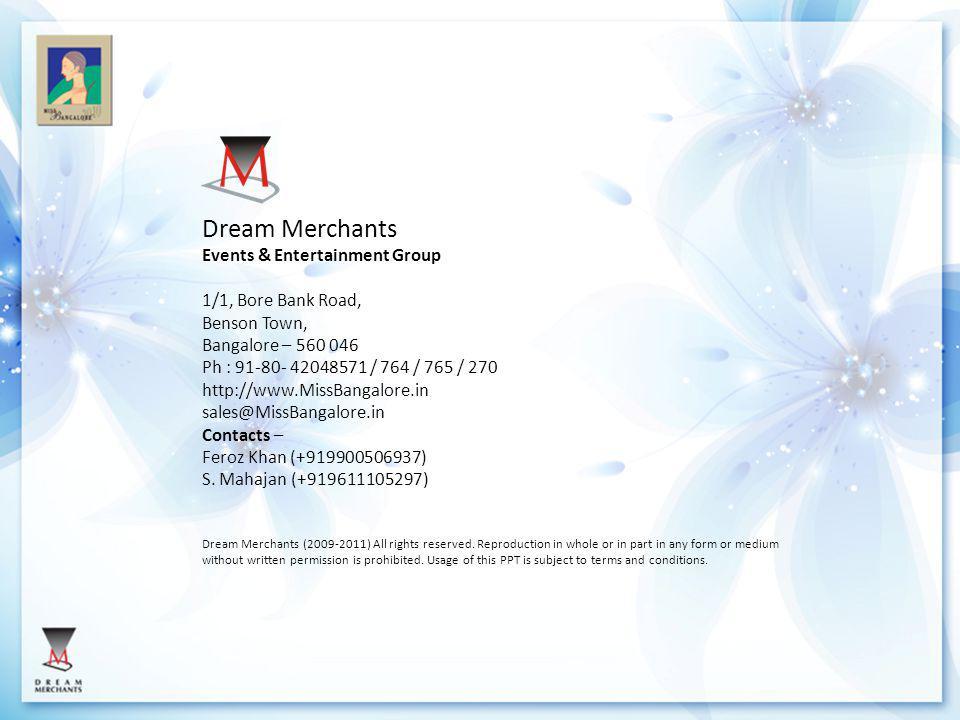 Dream Merchants Events & Entertainment Group 1/1, Bore Bank Road,
