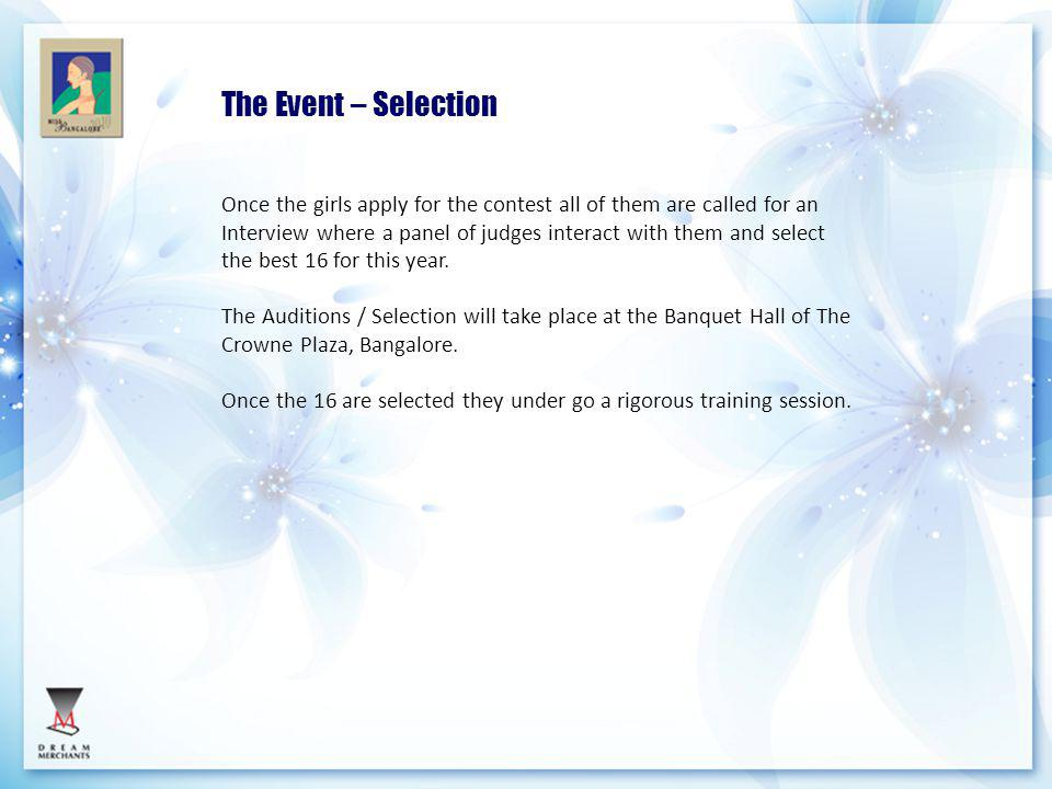 The Event – Selection