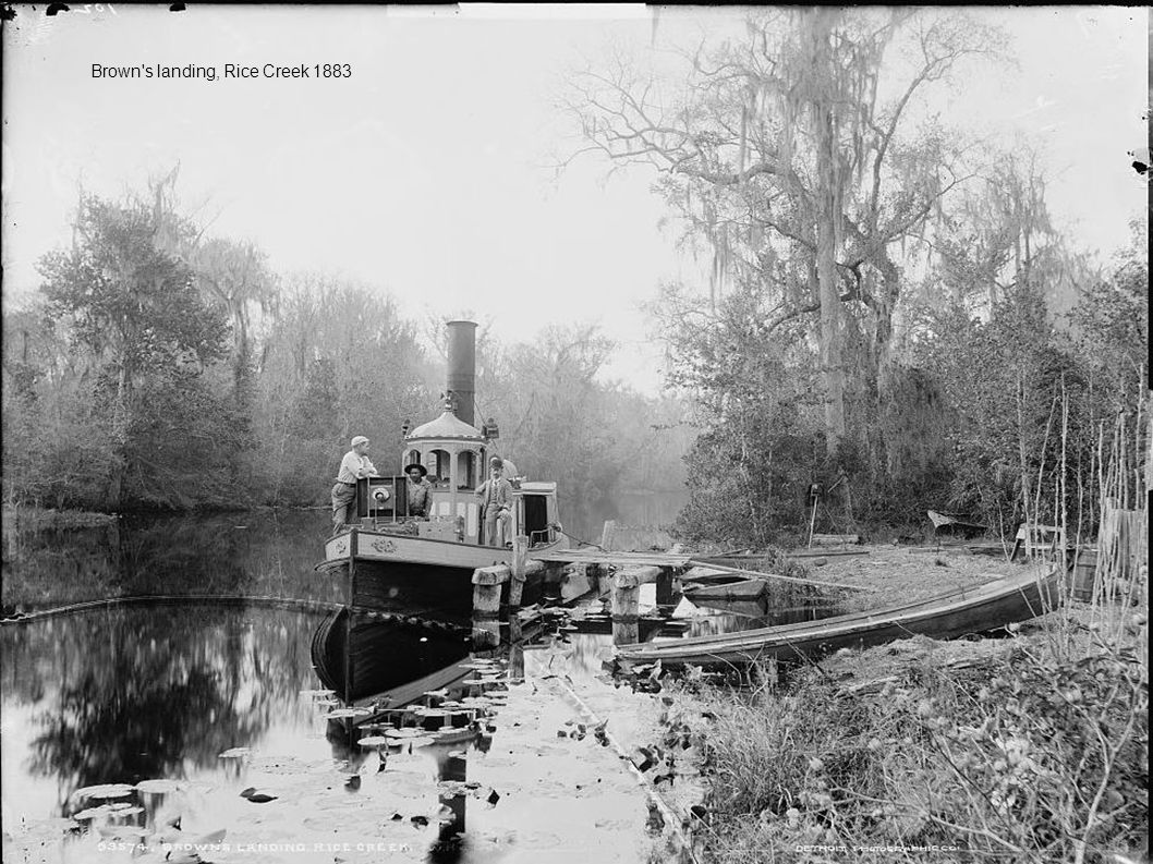 Brown s landing, Rice Creek 1883