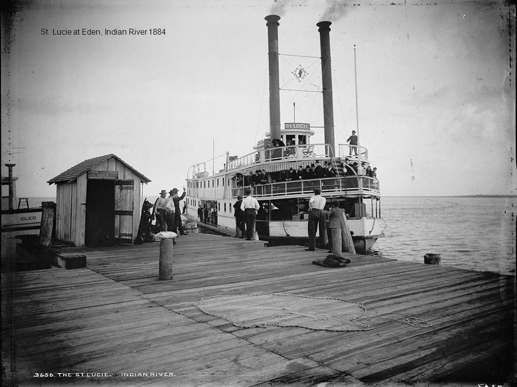St. Lucie at Eden, Indian River 1884
