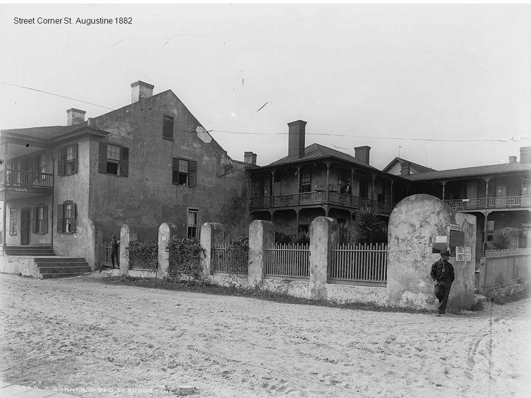 Street Corner St. Augustine 1882