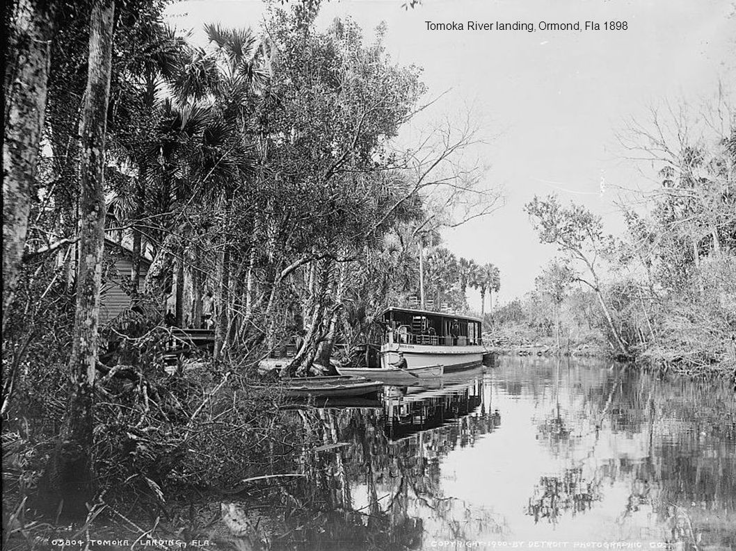 Tomoka River landing, Ormond, Fla 1898