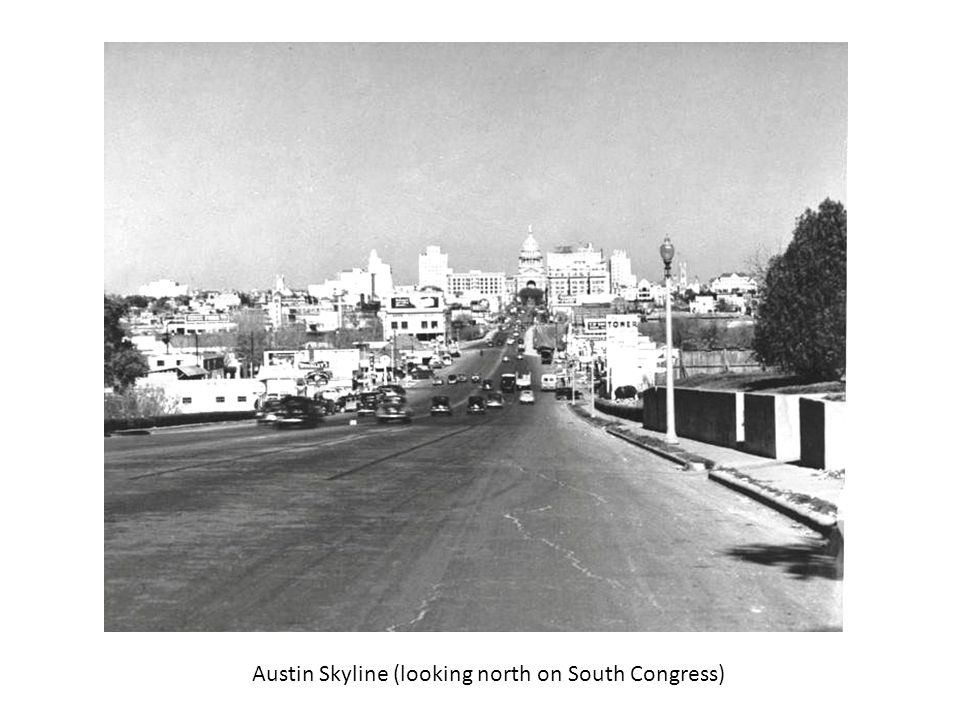 Austin Skyline (looking north on South Congress)