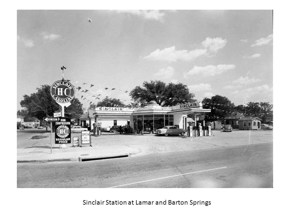 Sinclair Station at Lamar and Barton Springs