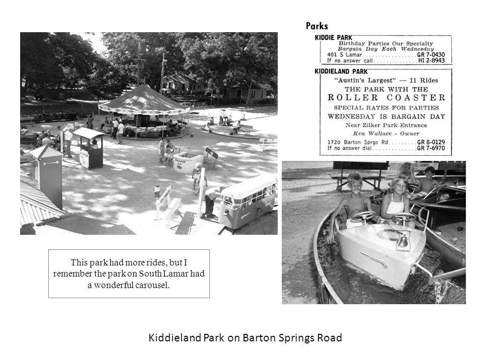 Kiddieland Park on Barton Springs Road