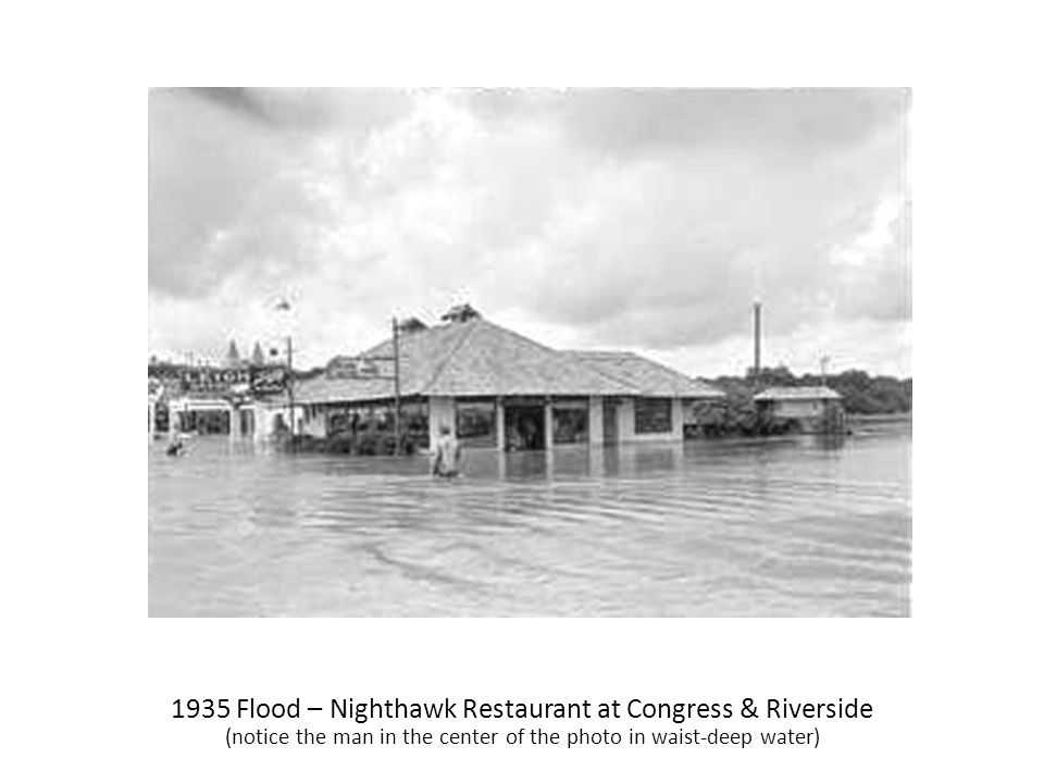 1935 Flood – Nighthawk Restaurant at Congress & Riverside