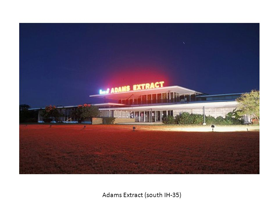 Adams Extract (south IH-35)